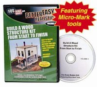DVD Build a Wood Structure Kit from Start to Finish