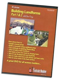 DVD Building Landforms Part 1 & 2 with Dave Frary
