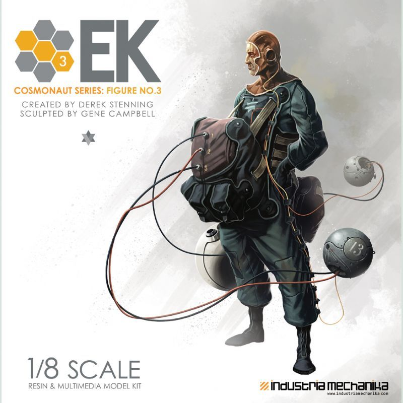 画像1: 1/8 Scale Derek Stenning's EK Cosmonaut 3