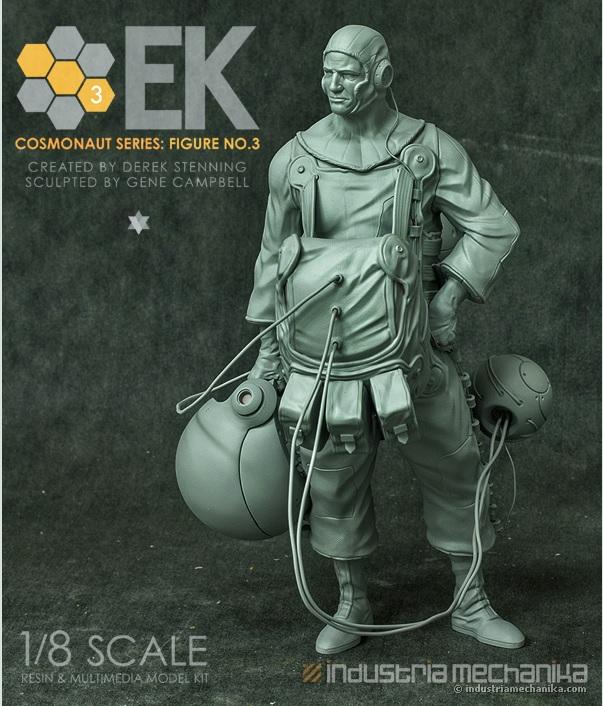 画像2: 1/8 Scale Derek Stenning's EK Cosmonaut 3