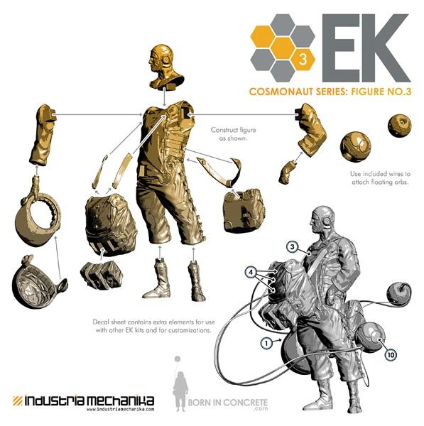 画像3: 1/8 Scale Derek Stenning's EK Cosmonaut 3