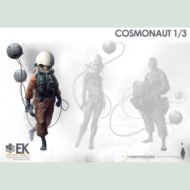 画像4: 1/8 Scale Derek Stenning's EK Cosmonaut 1