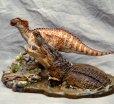 画像1: Deinosuchus vs Kritosaurus (1)