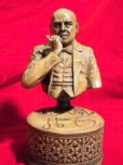 画像2: Aleister Crowley sculpture with pipe (2)