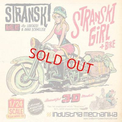 画像1: 1/24 Stranski Girl & Bike