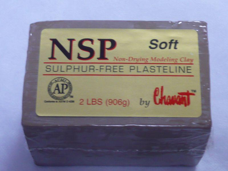 画像1: NSP アートクレイ タン ソフト