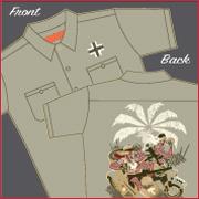 画像1: ワークシャツ African Corp.