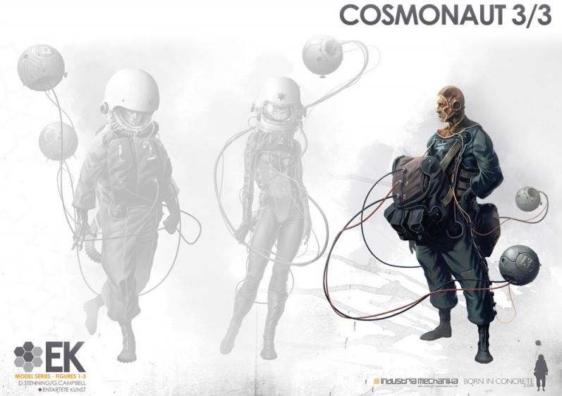 画像4: 1/8 Scale Derek Stenning's EK Cosmonaut 3