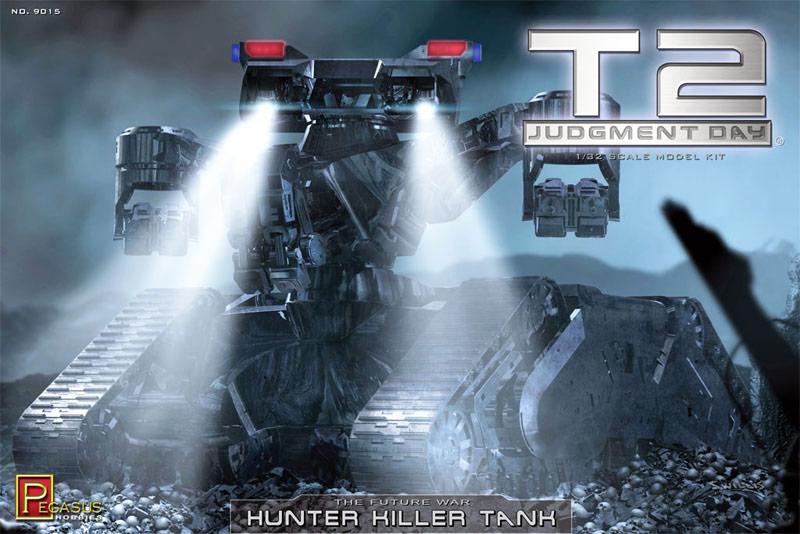 画像1: ターミネーター2 ハンターキラータンク 1/32スケール