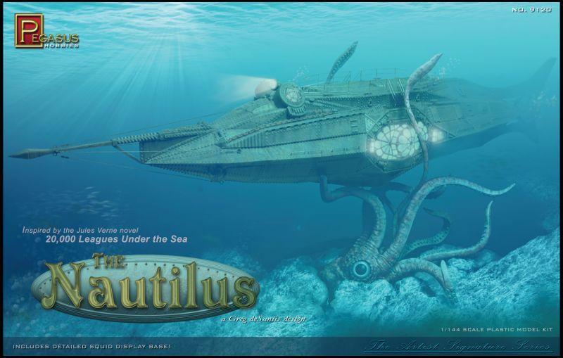 画像1: 1/144 THE NAUTILUS