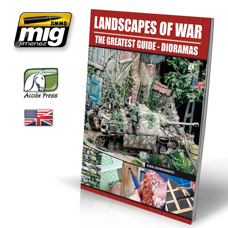 画像1: LANDSCAPES OF WAR: THE GREATEST GUIDE - DIORAMAS VOL. 3
