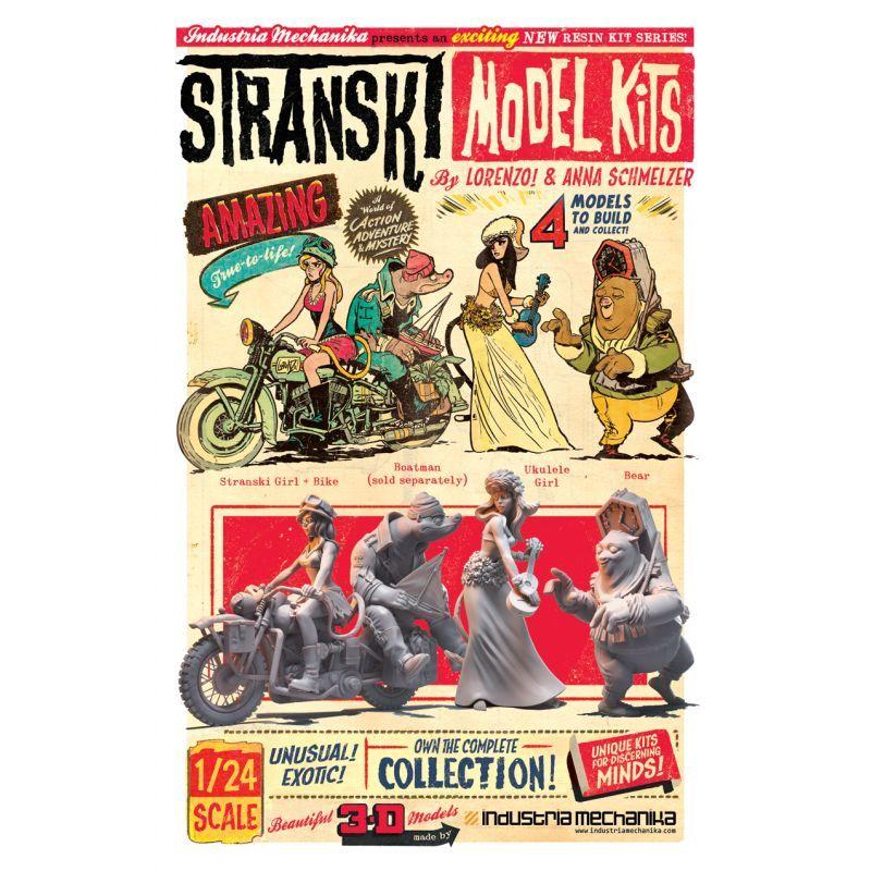 画像5: 1/24 Stranski Girl & Bike