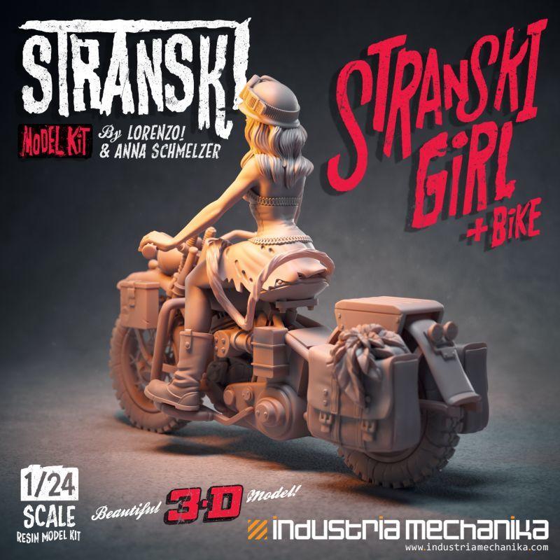 画像3: 1/24 Stranski Girl & Bike