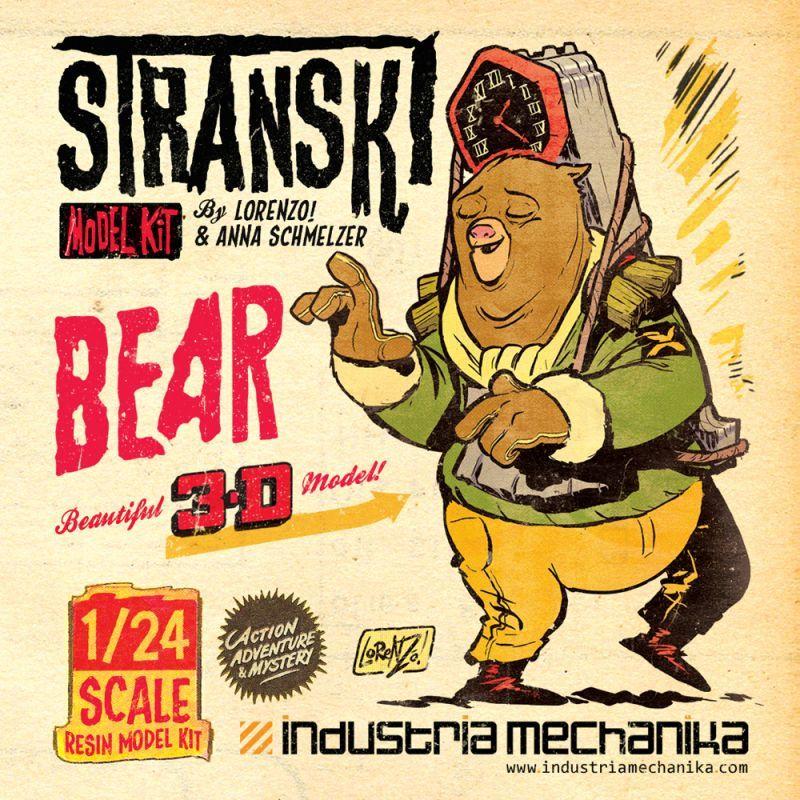 画像1: 1/24 Stranski Bear