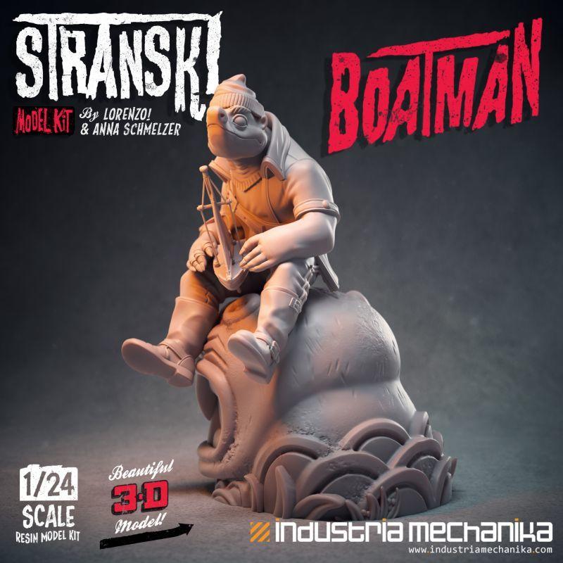 画像3: 1/24 Stranski Boatman