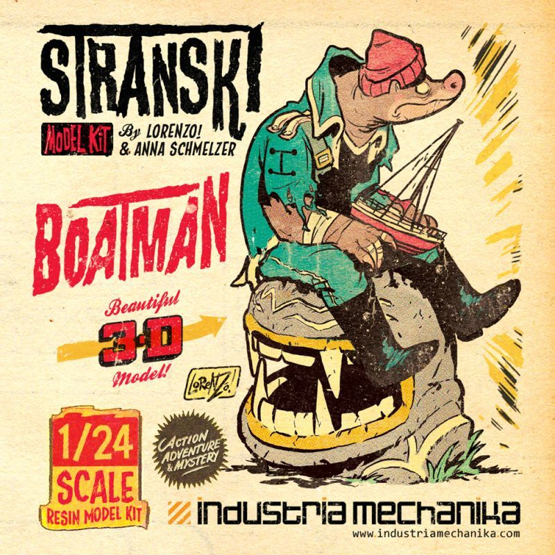 画像1: 1/24 Stranski Boatman