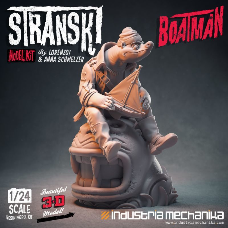 画像2: 1/24 Stranski Boatman