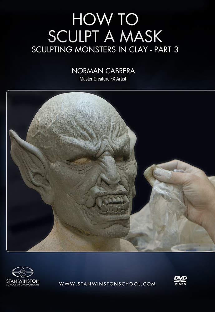 画像1: How to Sculpt a Mask: Sculpting Monsters in Clay Part 3