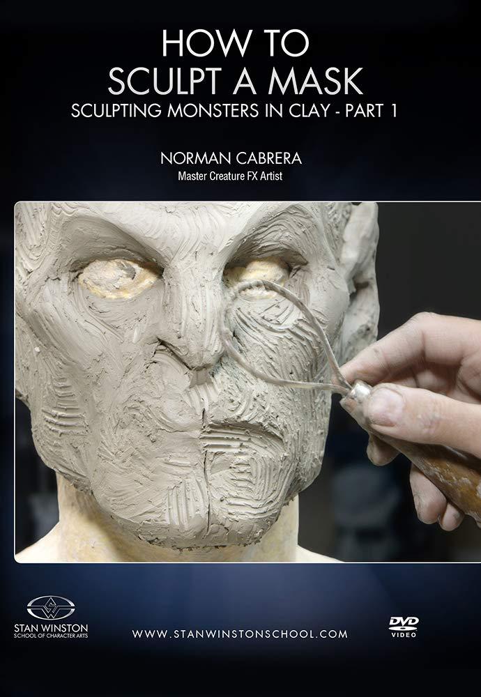 画像1: How to Sculpt a Mask: Sculpting Monsters in Clay Part 1