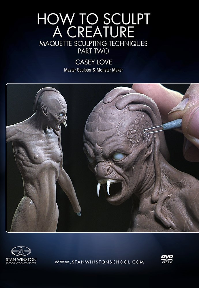 画像1: How to Sculpt a Creature: Maquette Sculpting Techniques - Part 2